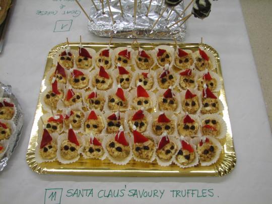 Santa Claus' Savoury Truffles